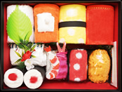 おむつ寿司の中身