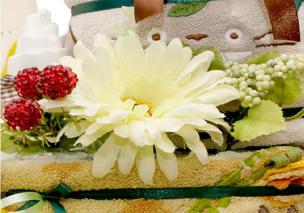 アーティフィシャルフラワー【おむつケーキを彩る鮮やかな造花たち】